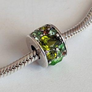 Chamilia Green Swarovski Mosaic Charm